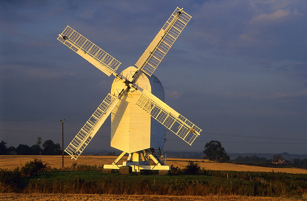 Europe, Great Britain, England, Kent, mill near Sandwich