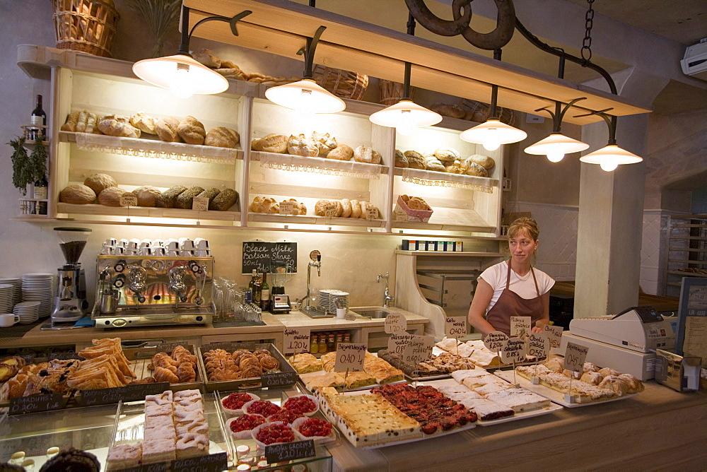Bakery in Old Town, Riga, Latvia