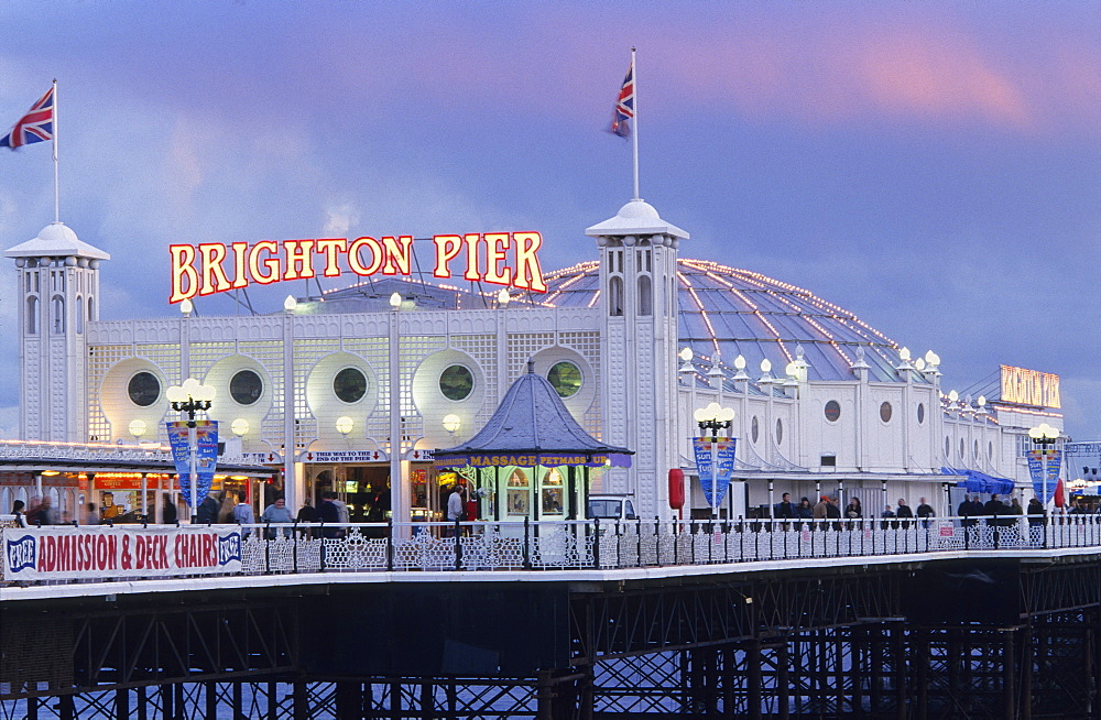 Europe, England, East Sussex, Brighton, Brighton Pier