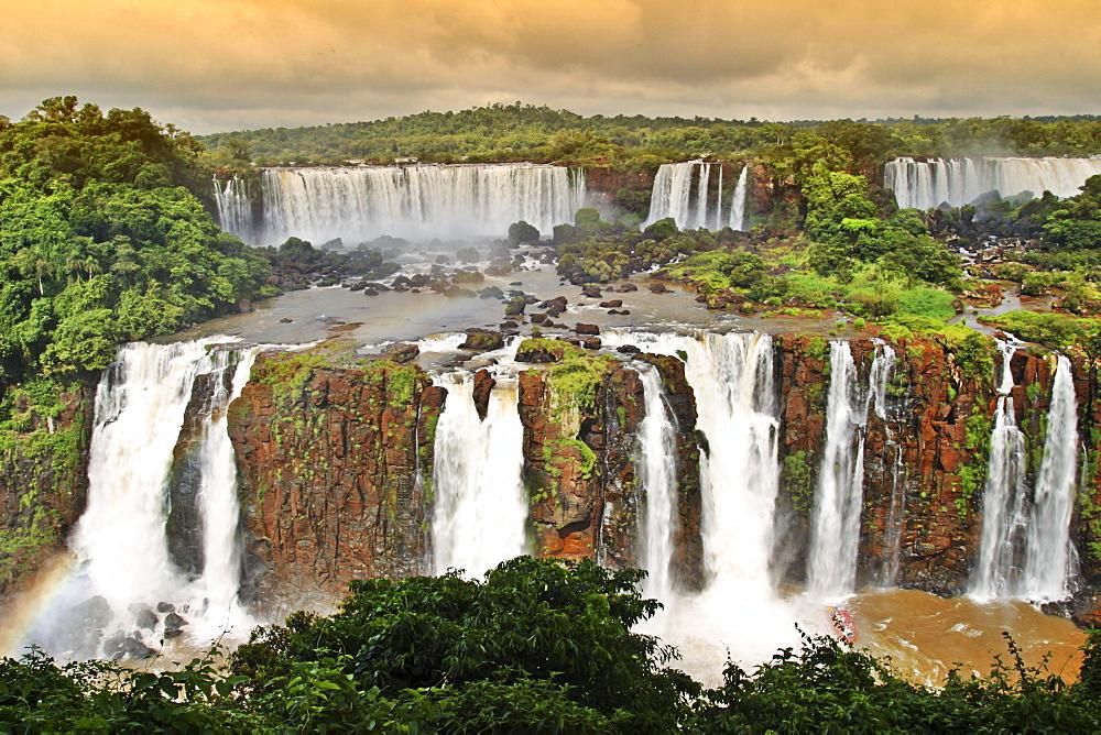 Iguazu Wasserfall, Argentina