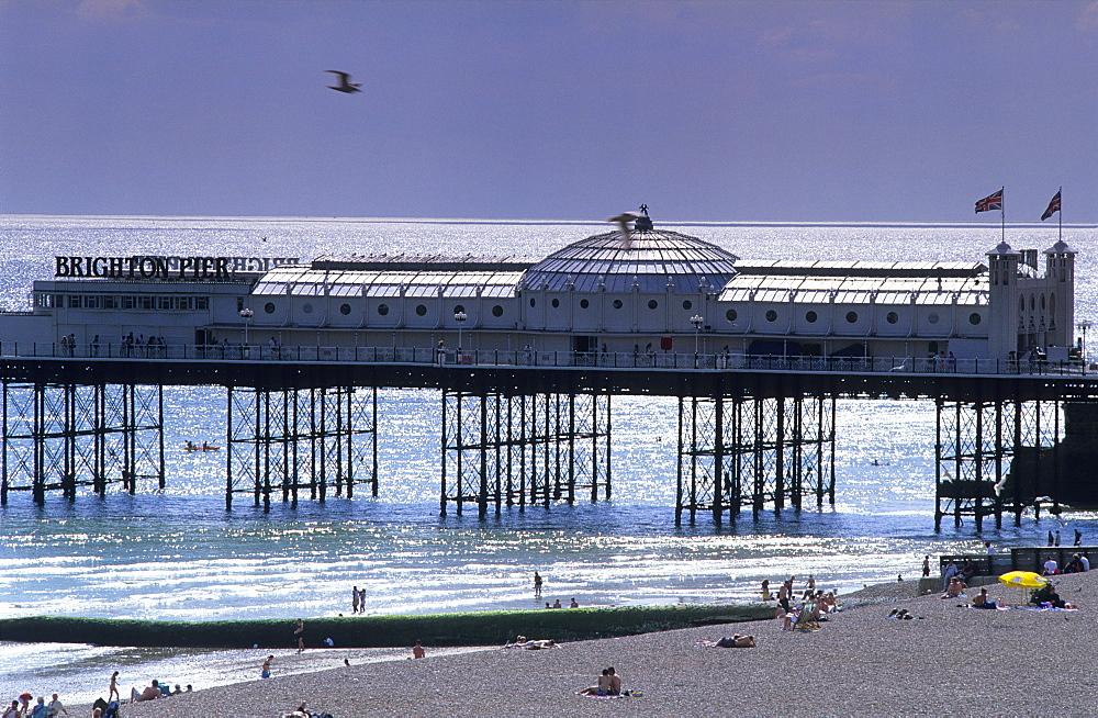 Europe, England, East Sussex, Brighton, Brighton Pier