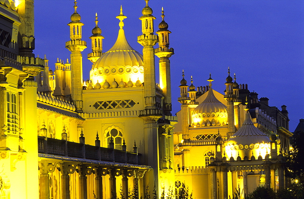 Europe, Great Britain, England, East Sussex, Brighton, Royal Pavilion