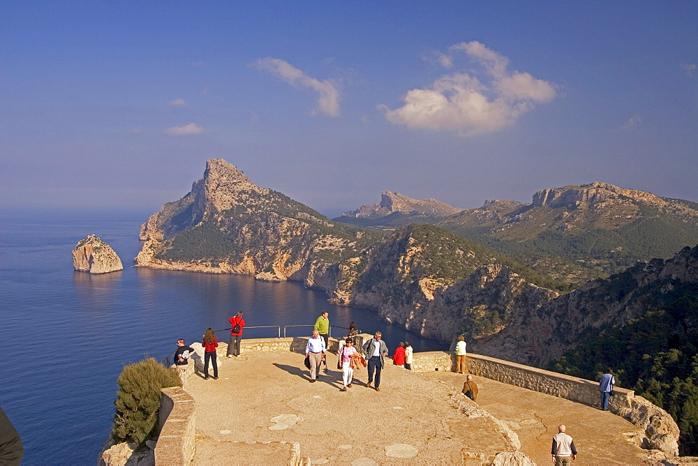 Mallorca, Cap Formentor, view point