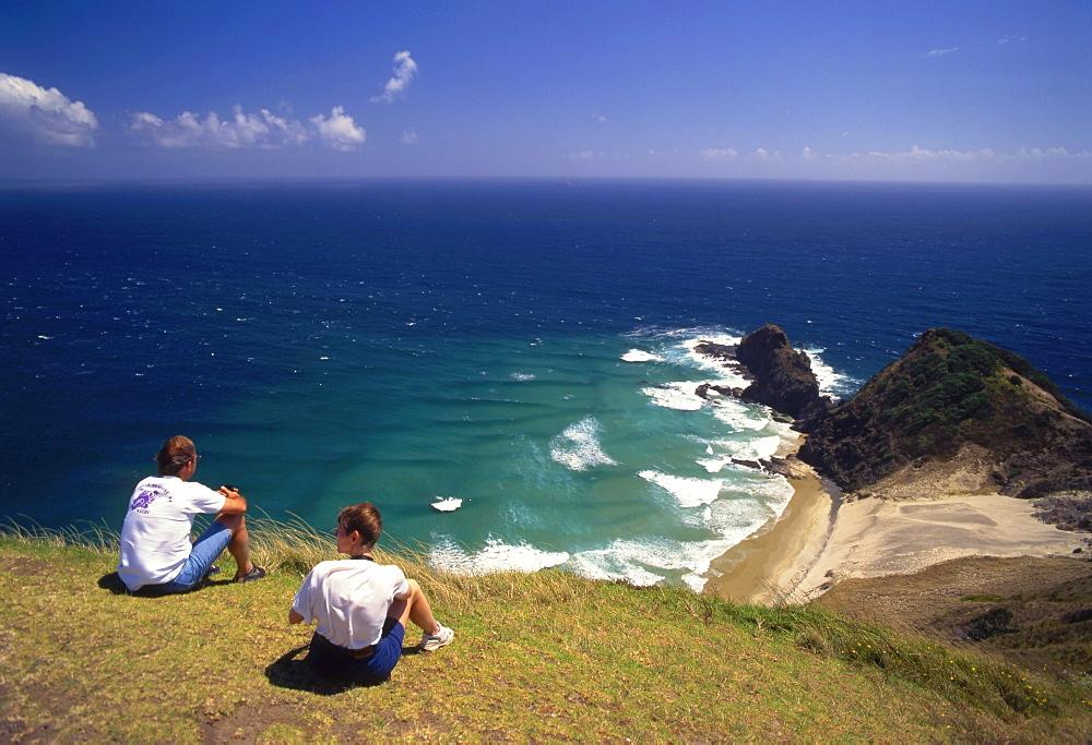 Coastline, Cape Reinga, New Zealand