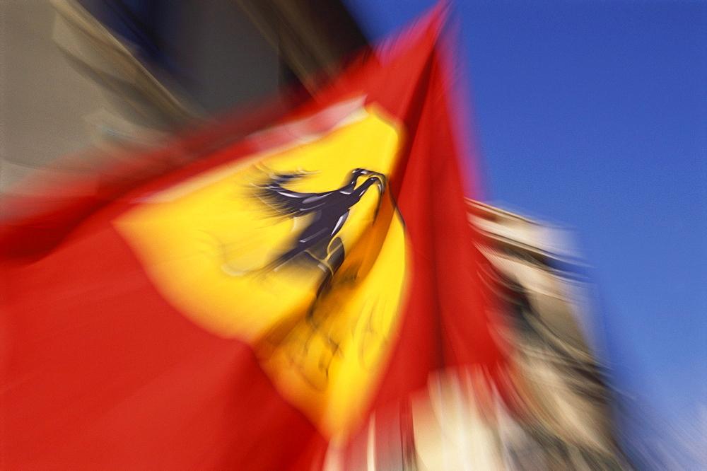 Ferrari Flag, Formula 1 Grand Prix, F1, Monte Carlo, Monaco, Europa