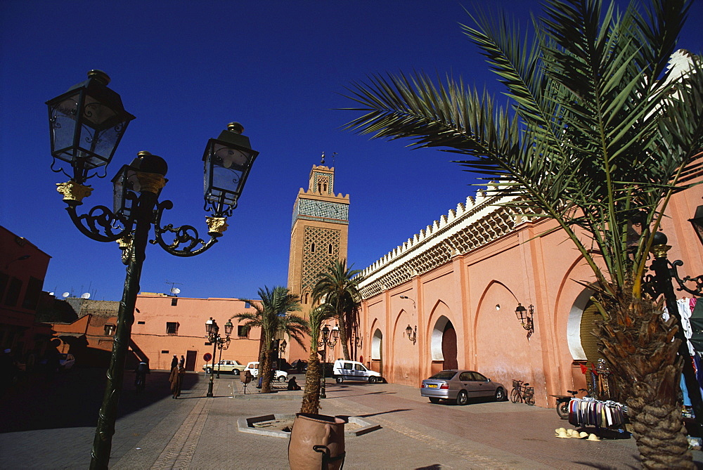 Kasbah Mosque, Marrakesh, Morocco, Africa