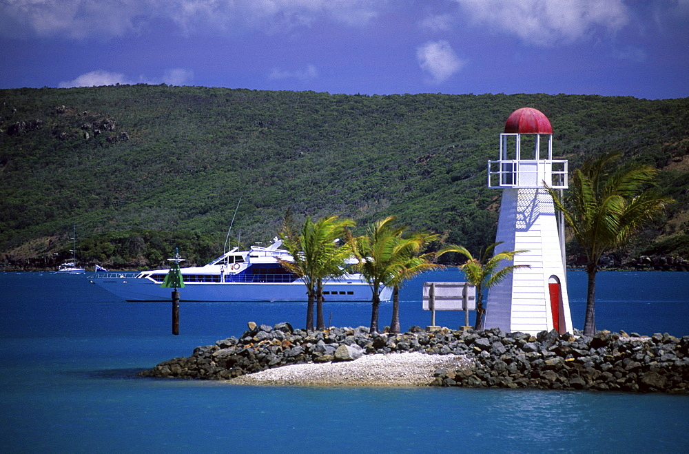 Lighthouse on Hamilton Island, Whitsunday Islands, Great Barrier Reef, Australia