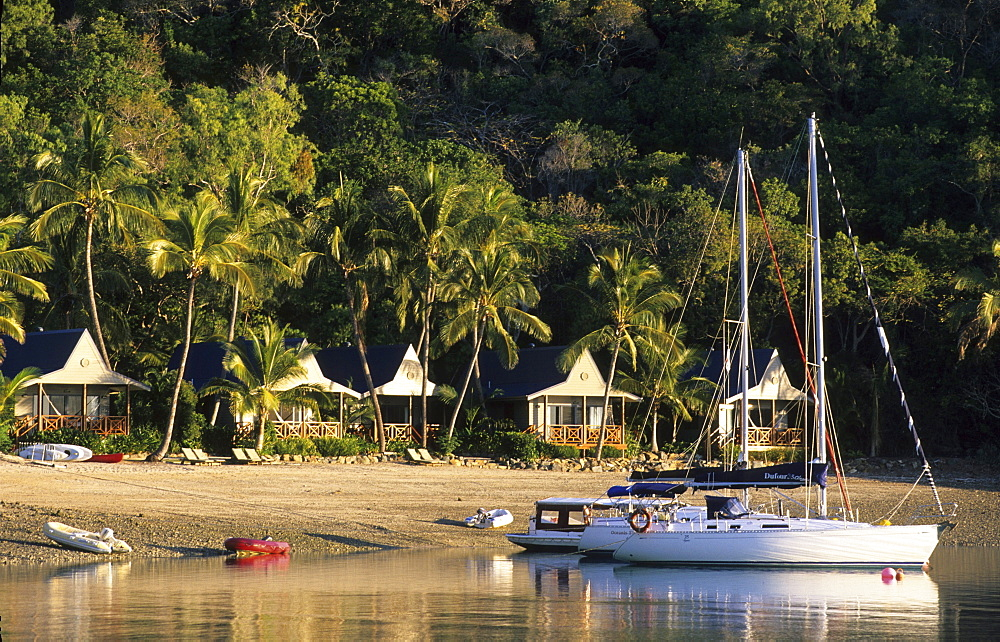 Peppers Resort on Long Island, Whitsunday Islands, Great Barrier Reef, Australia
