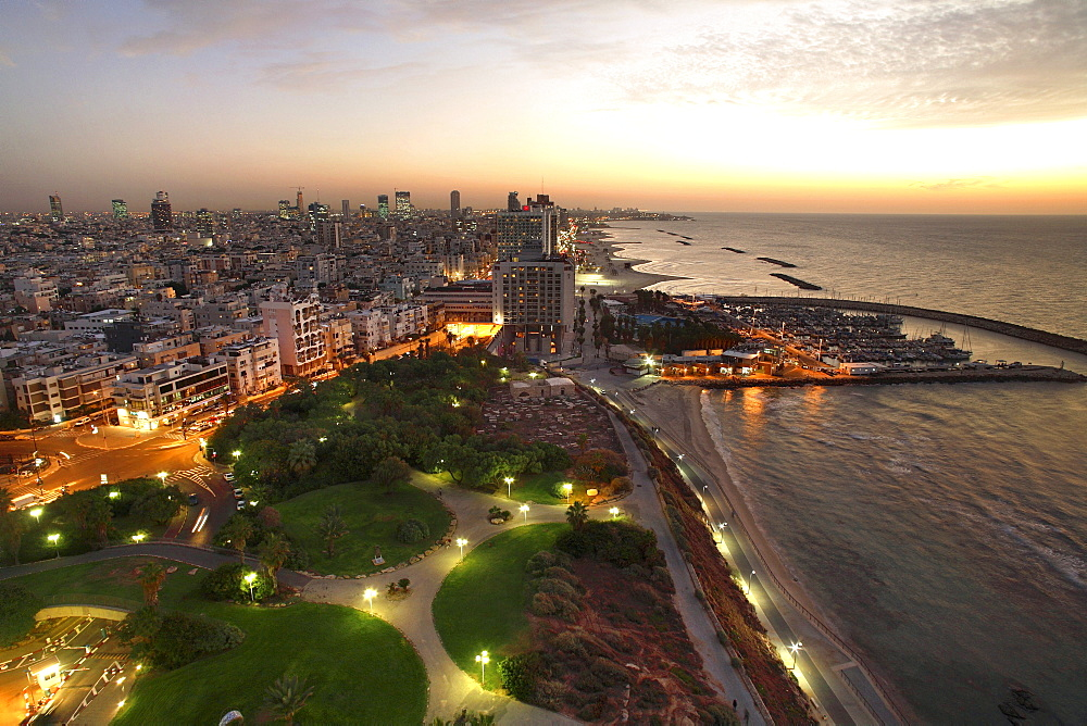 Sunset, Tel-Aviv, Israel
