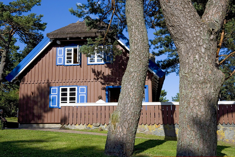 House of Thomas Mann in Nida (Nidden), Curian spit, Lithuania