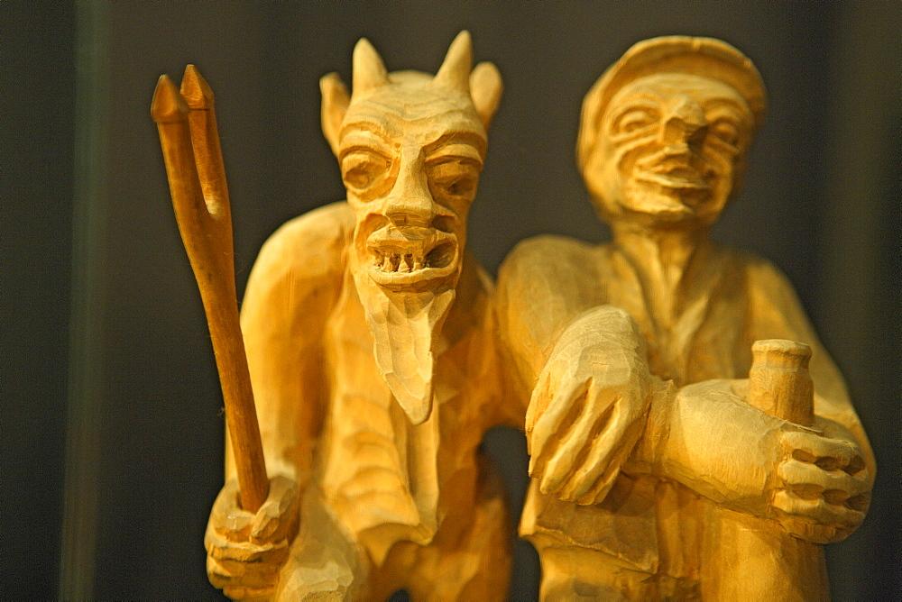 Kaunas, Museum of devils, Lithuania