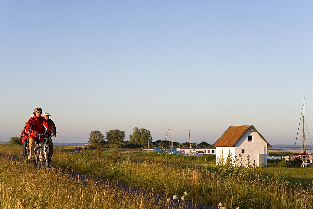 Bicycle, Hiddensee, Baltic Sea, Mecklenburg-Western Pomerania, Germany