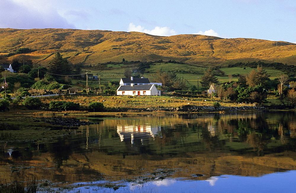 Europe, Great Britain, Ireland, Co. Galway, Connemara, Killary Bay - 1113-8782