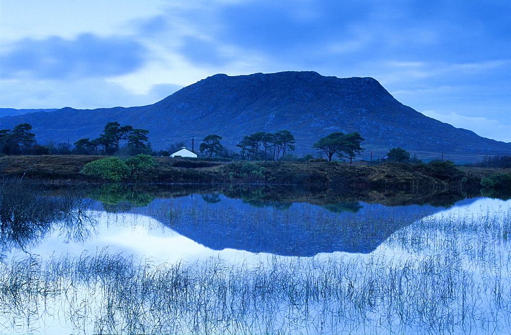 Landscape near Maam Cross, Connemara, Europe, Co. Galway, Ireland, Europe