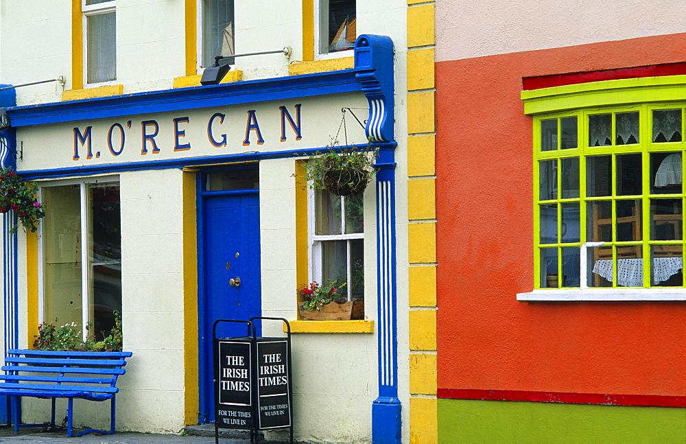 Shop in Kinvarra, Co. Galway, Ireland, Europe
