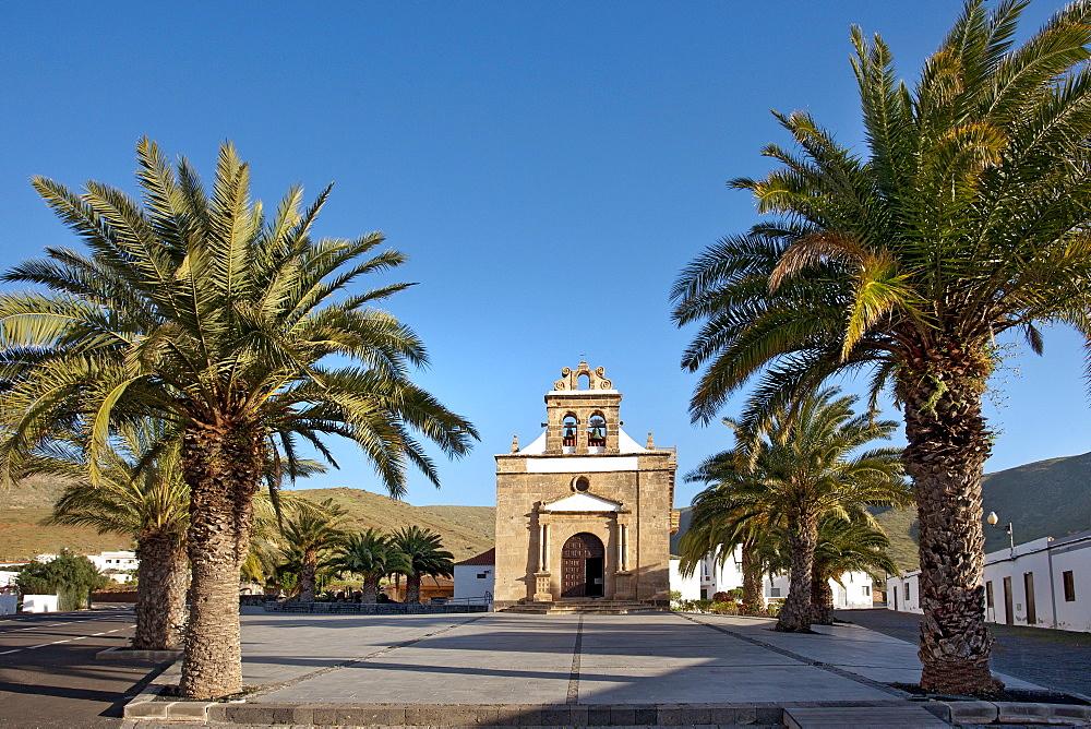Pilgrimage church, Santuario de la Vega, Vega de Rio de las Palmas, Fuerteventura, Canary Islands, Spain