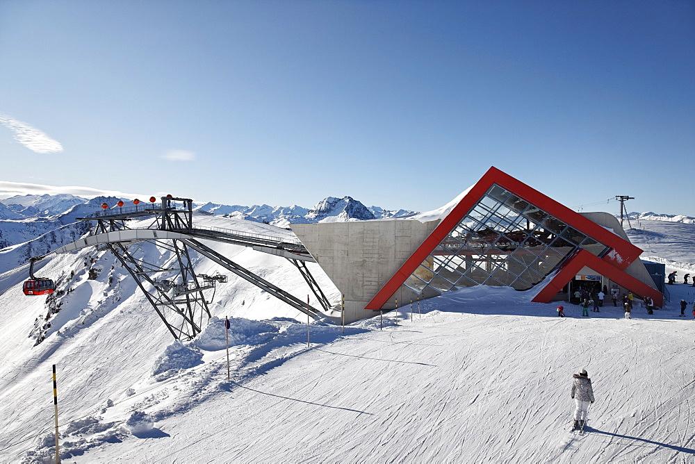 3S Cabin Lift, Ski Resort Pengelstein, Lift, Kirchberg, Kitzbuhel, Tyrol, Austria