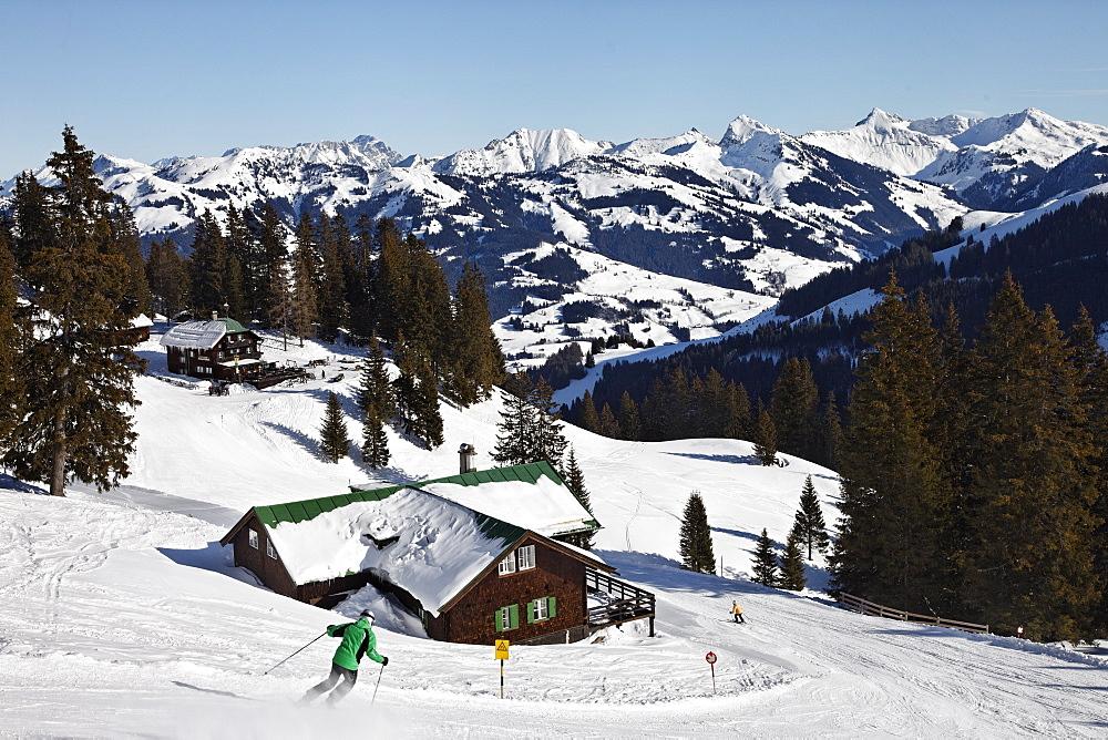 Hotel in the mountains Sonnbuhel, Kitzbuhel, Tyrol, Austria