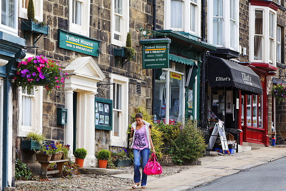High Street, Paterley Bridge, Yorkshire Dales, Yorkshire, England, Great Britain