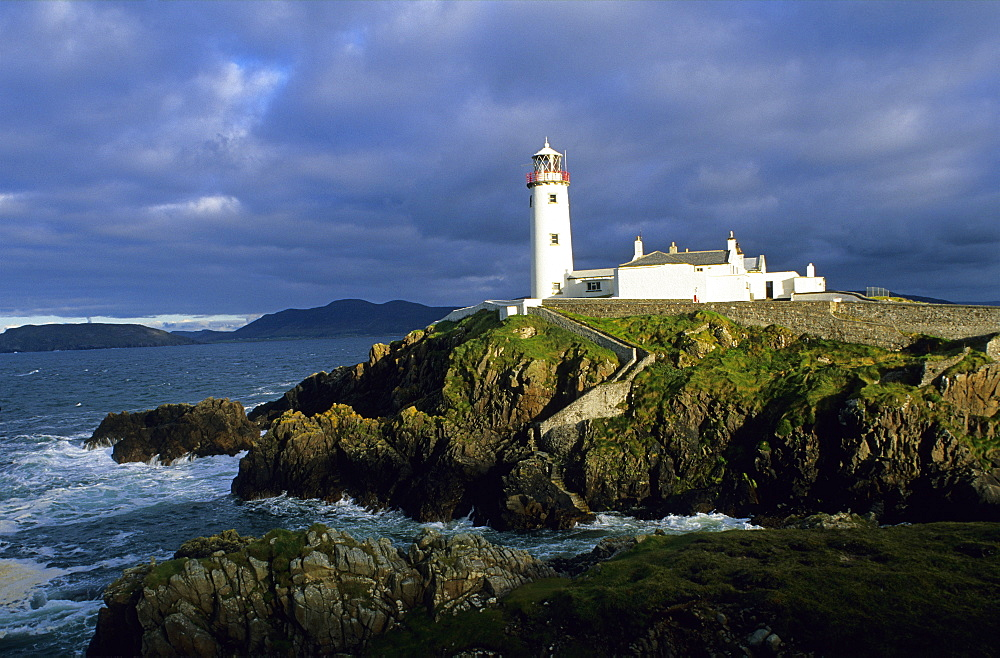 Lighthouse at Fanad Head, County Donegal, Ireland, Europe