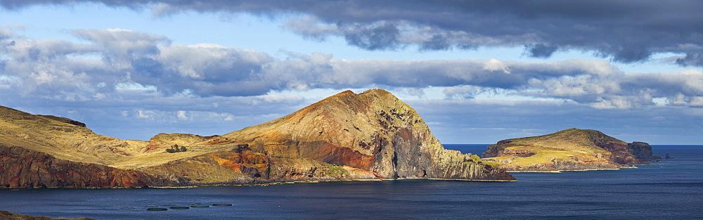 Volcanic landscape, Baja d'Abra, Ponta de Sao Lourenco, Madeira, Portugal, Ponta de Sao Lourenco, Madeira, Portugal