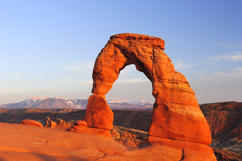 Delicate Arch, Arches National Park, Moab, Utah, Southwest, USA, America