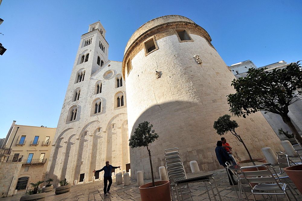 Bari Cathedral, dedicated to Saint Sabinus of Canosa, Bari, Apulia, Italy