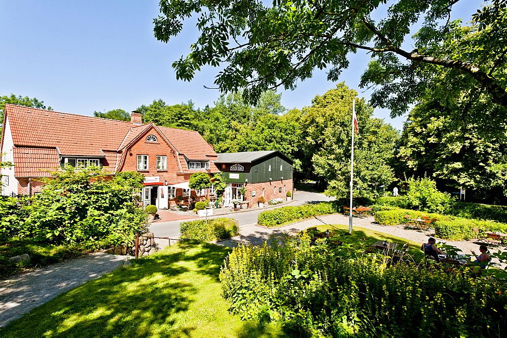 Museum of the village Unewatt, Langballig, Schleswig-Flensburg, Schleswig-Holstein, Germany