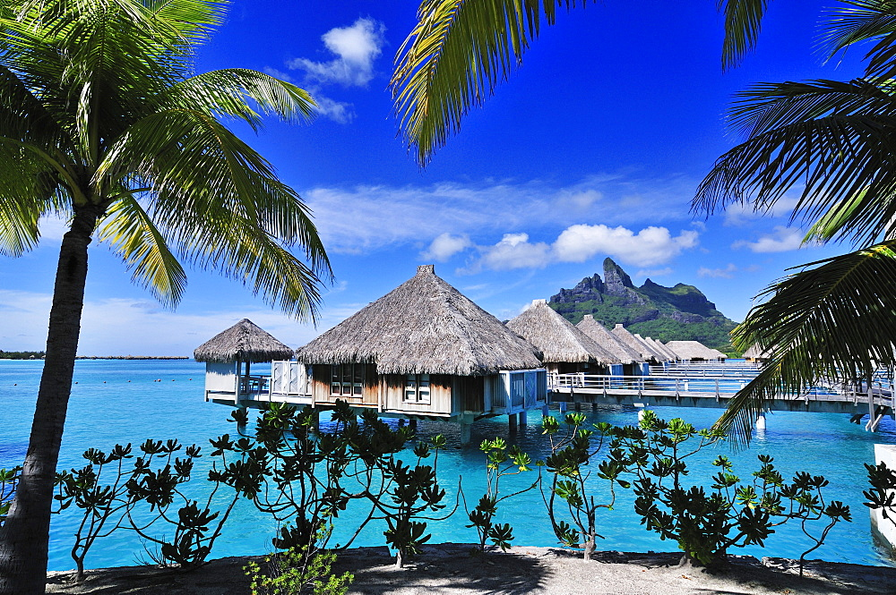 Saint Regis Bora Bora Resort, Bora Bora, Society Islands, French Polynesia, Windward Islands, South Pacific