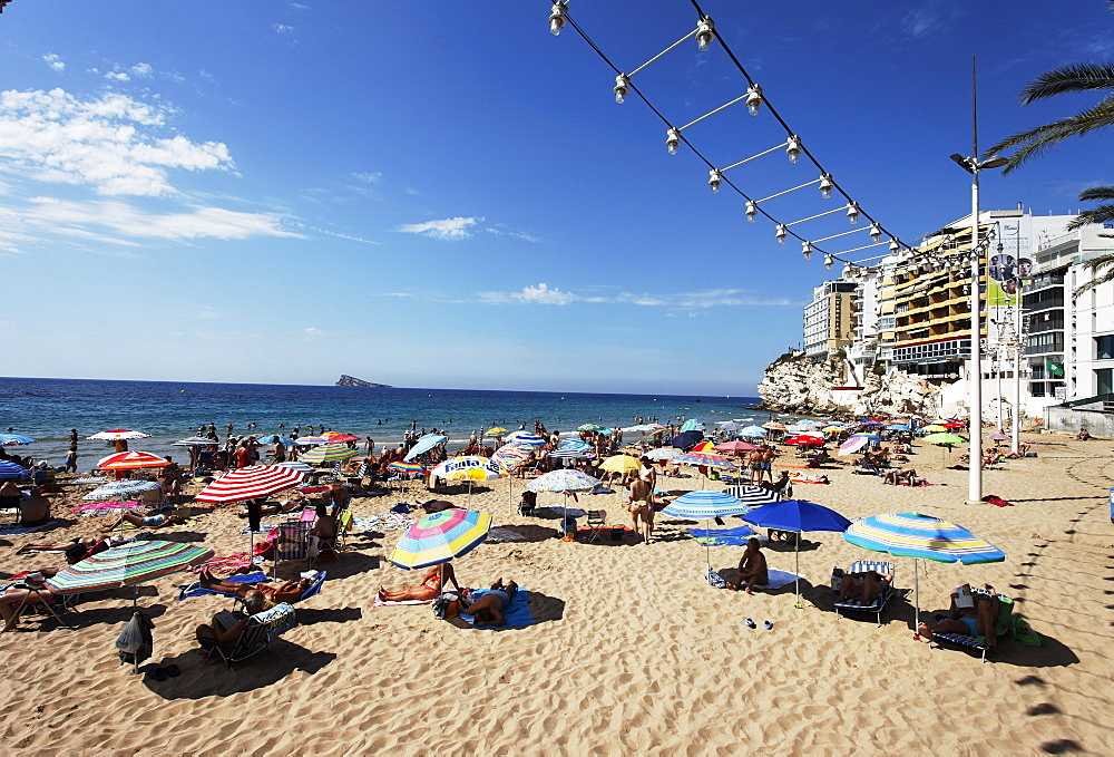 Beach life, Benidorm, Alicante, Spain