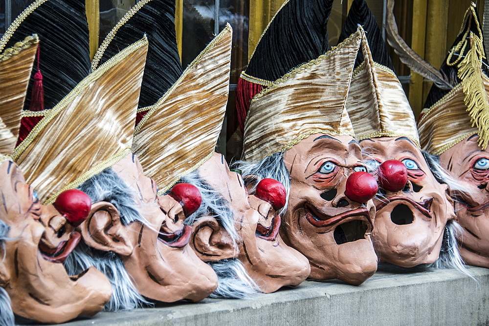 Carnival masks, Carnival of Basel, canton of Basel, Switzerland