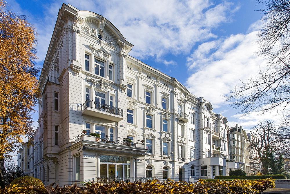 Art nouveau houses in Hamburg, Germany