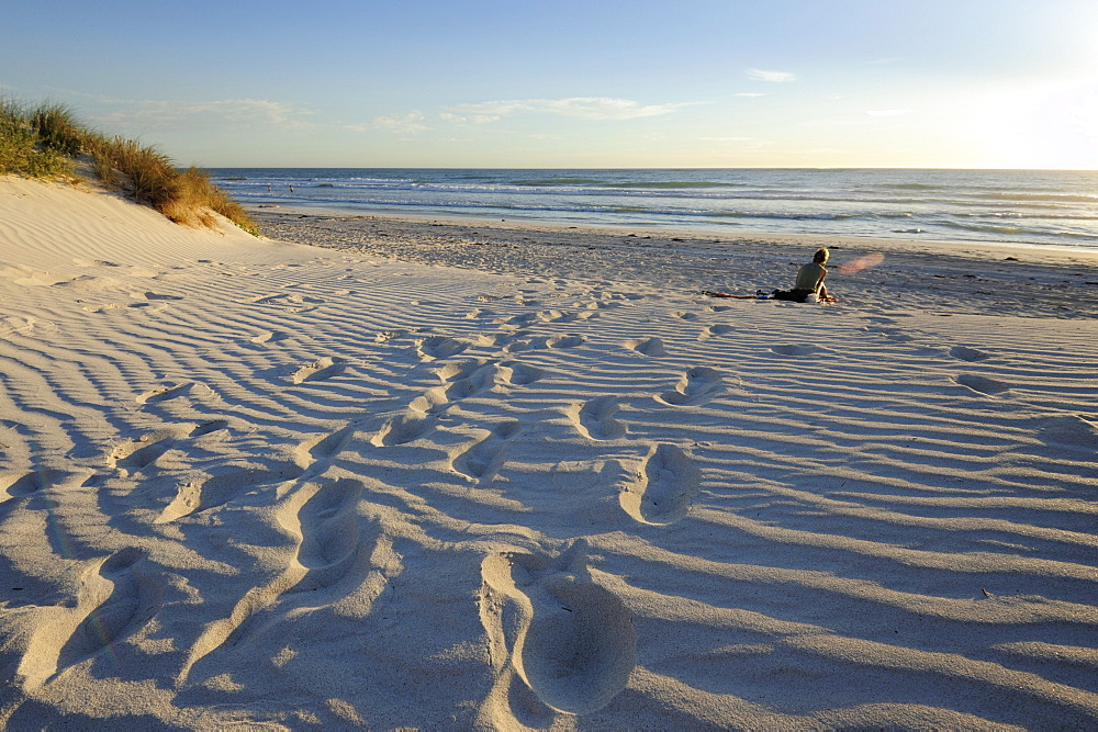 Beach and dunes at Lancelin, Perth, Western Australia, WA, Indian Ocean, Australia
