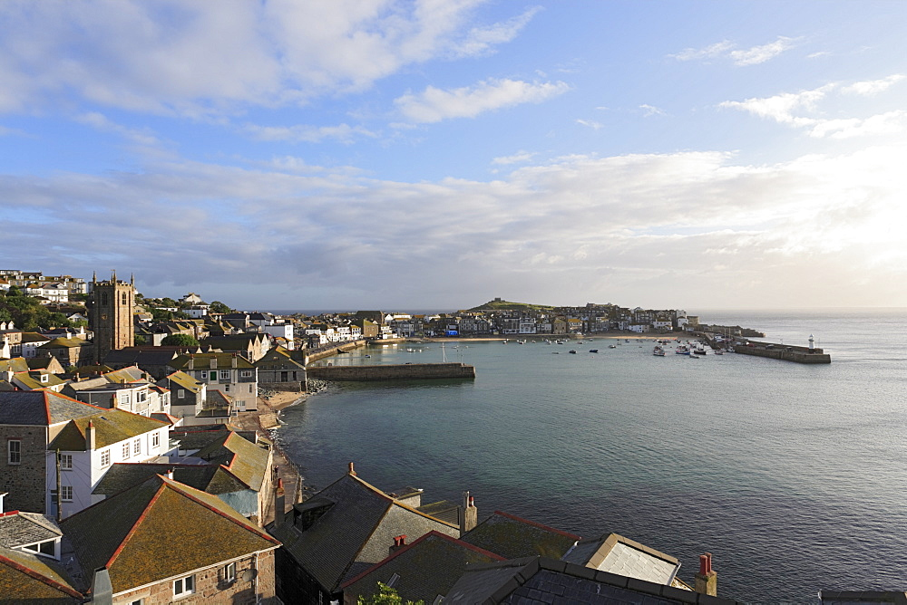 Harbor, St Ives, Cornwall, England, United Kingdom