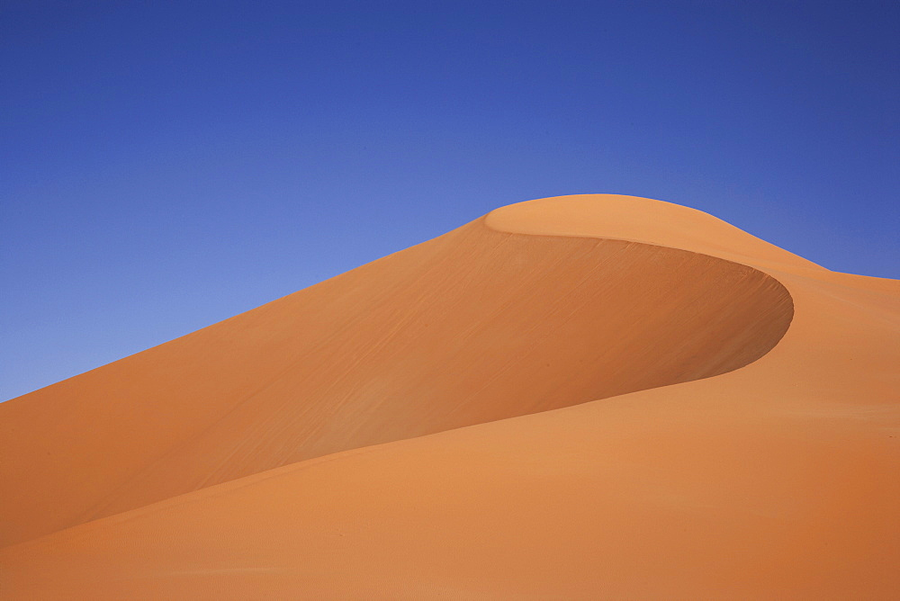 Sand dune, Murzuq Desert, Murzuq District, Libya