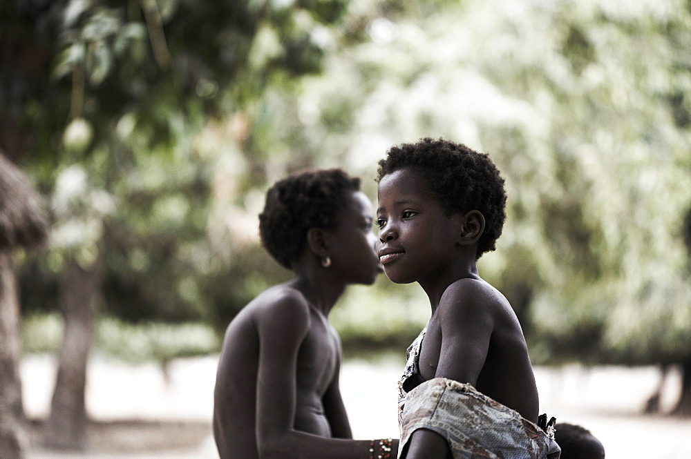 Two children, Magadala, Mali