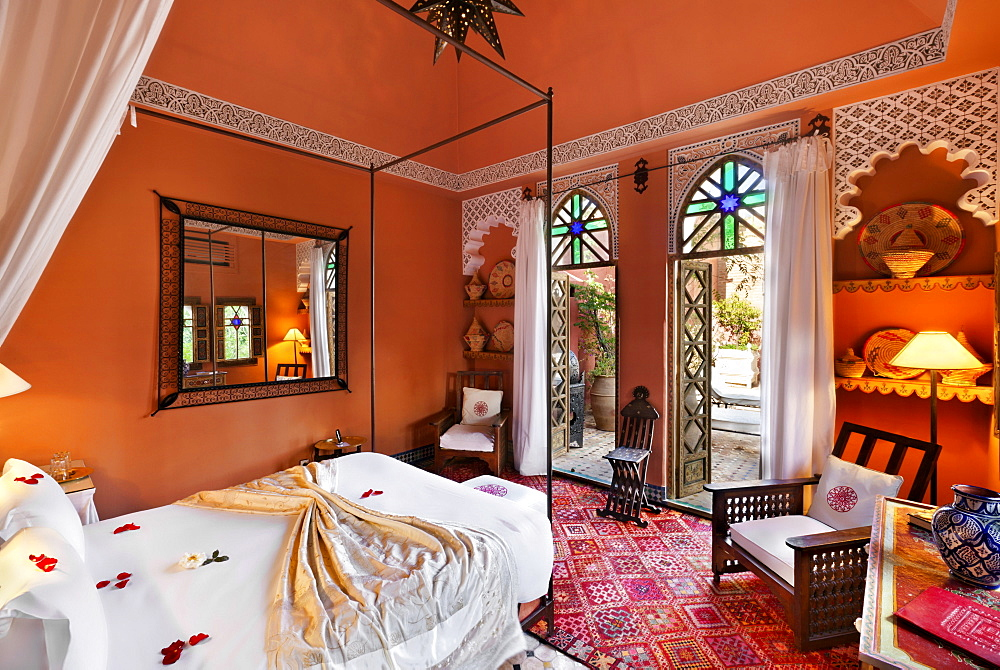 Guest room, Riad Kaiss, Marrakech, Morocco
