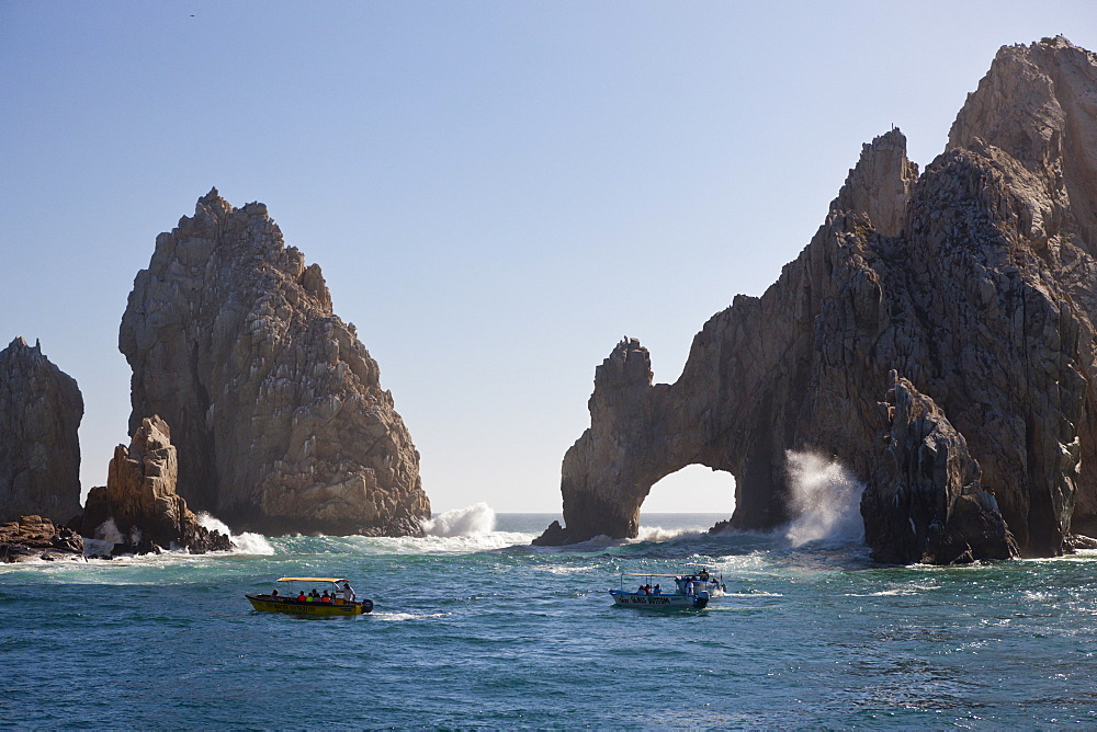 Trip to Lands End at Cabo San Lucas, Cabo San Lucas, Baja California Sur, Mexico