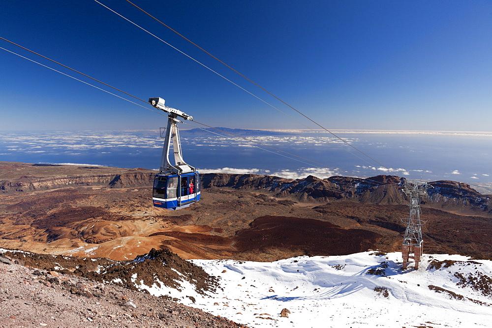 Cable Car Teleferico del Teide, Tenerife, Spain