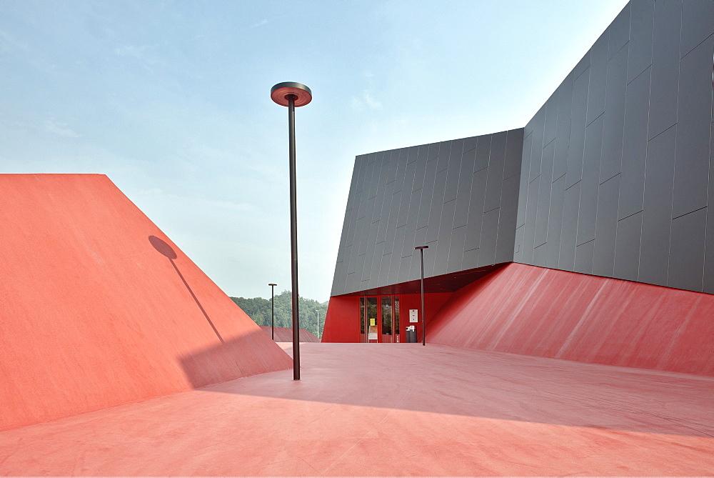 Gymnasium Podcetrtek close to Terme Olimia, modern architecture, Štajerska & Koroška, Slovenia