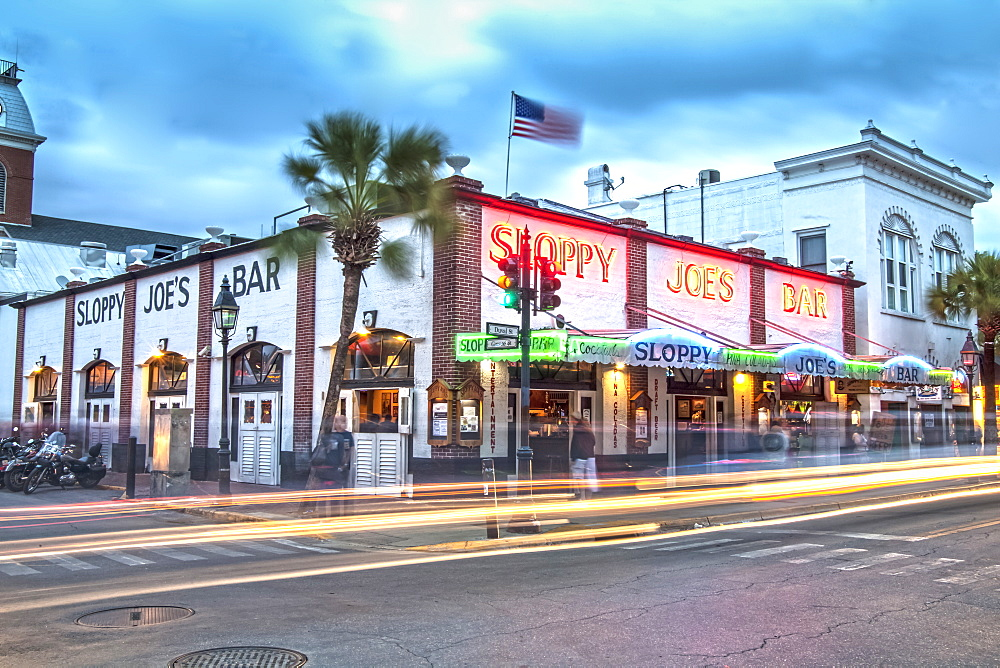 The famous bar pub Sloppy Joe's in Key West, Florida Keys, Florida, USA