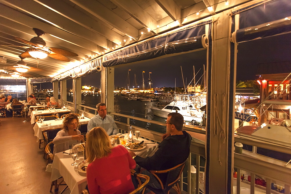 Restaurant A and B Lobster House, Key West, Florida Keys, Florida, USA