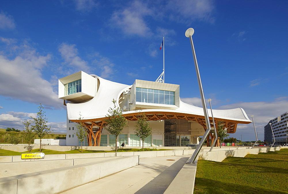 Centre Pompidou Metz, 2010, Metz, Moselle, Region Alsace Lorraine, France, Europe