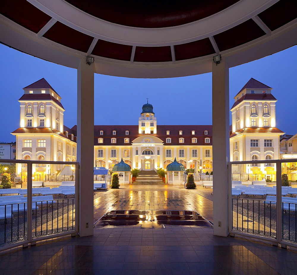 Spa hotel, Binz, Ruegen, Mecklenburg-Western Pomerania, Germany - 1113-98780