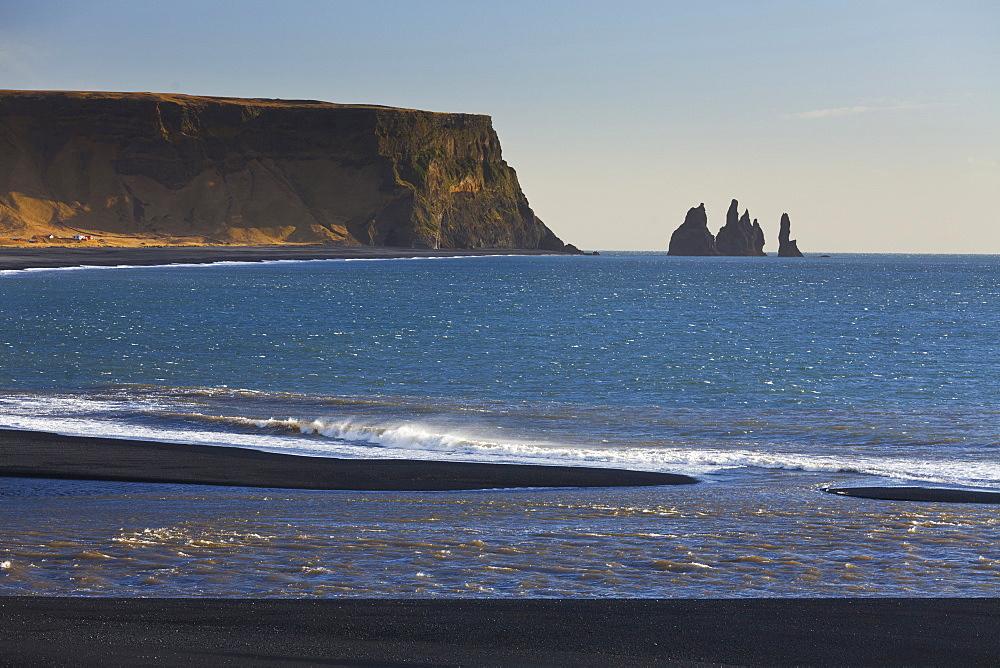 Reynisfjara beach, Reynisdrangar, Reynir, South Iceland, Iceland