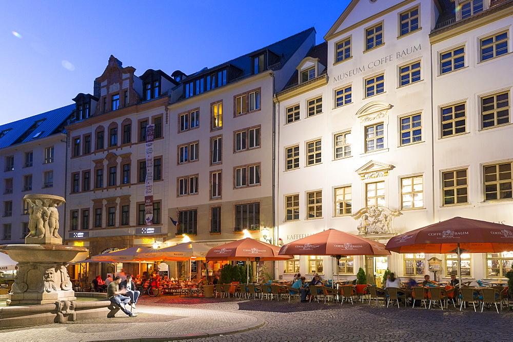Pub district Drallewatsch, Leipzig, Saxony, Germany