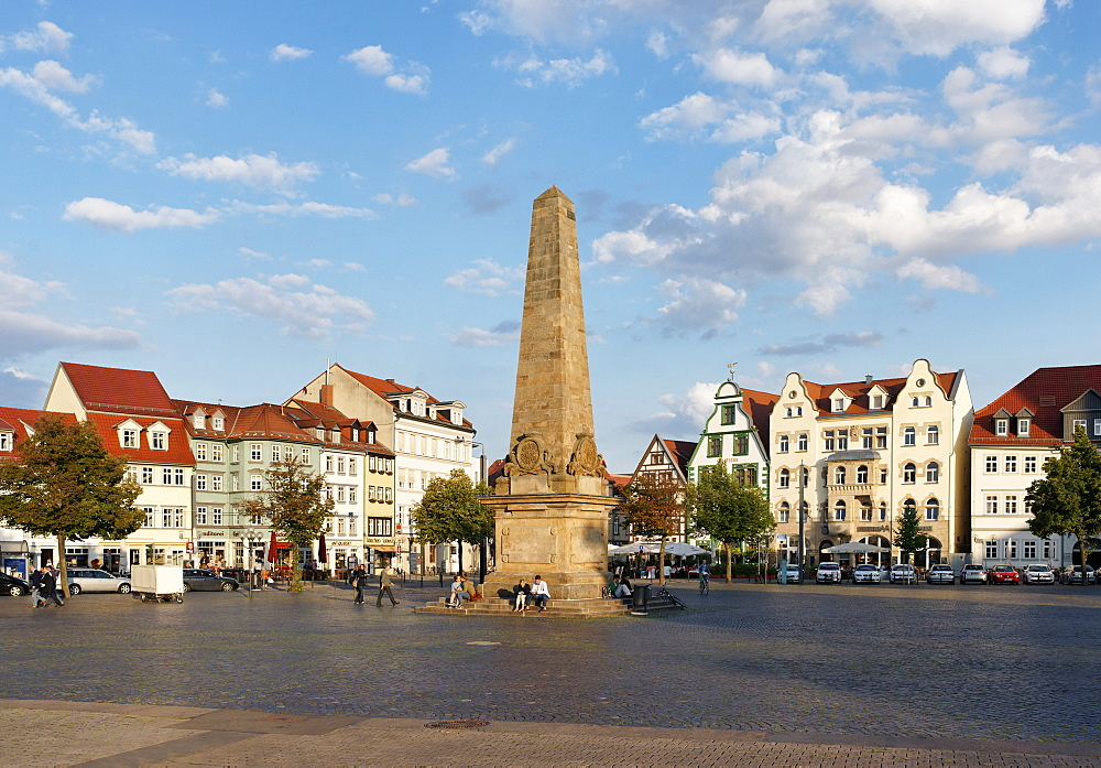 Cathedral Square, Domplatz, Erfurt, Thuringia, Germany