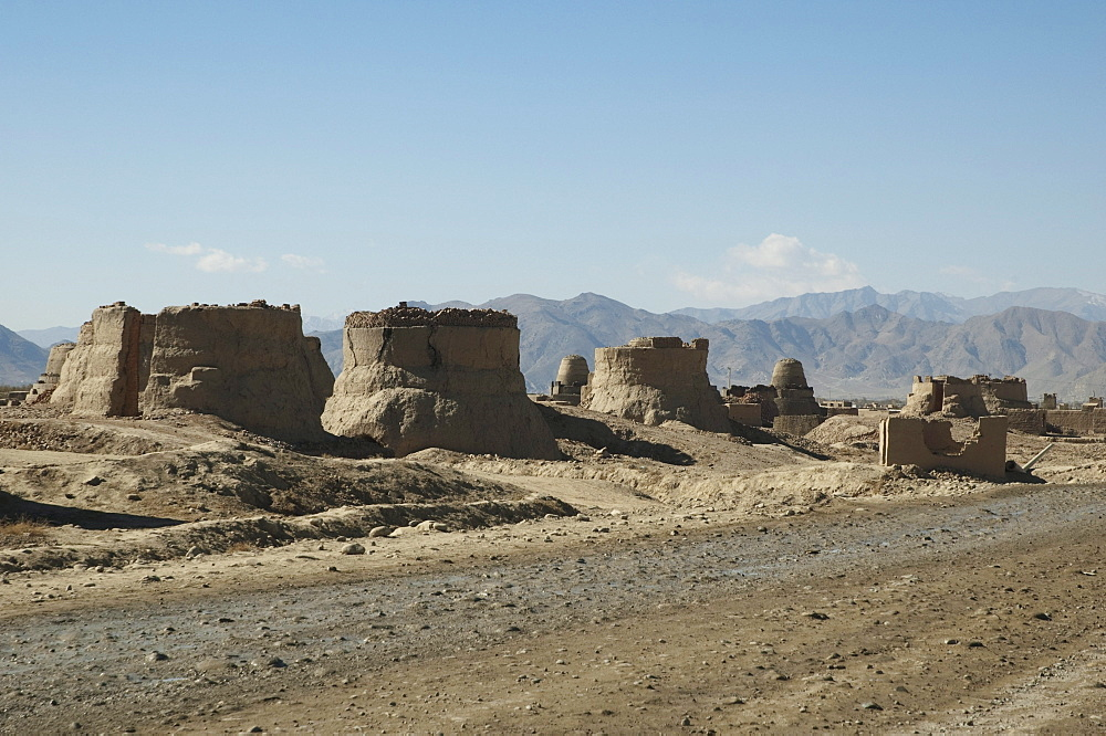Brick kilns in the outskirts of Kabul,, Afghanistan