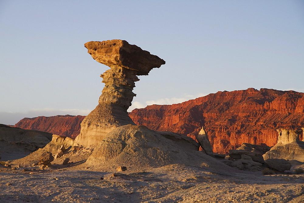 El Hongo Formation, Valle de la Luna (Moon Valley), Ischigualasto Natural Park, San Juan, Argentina