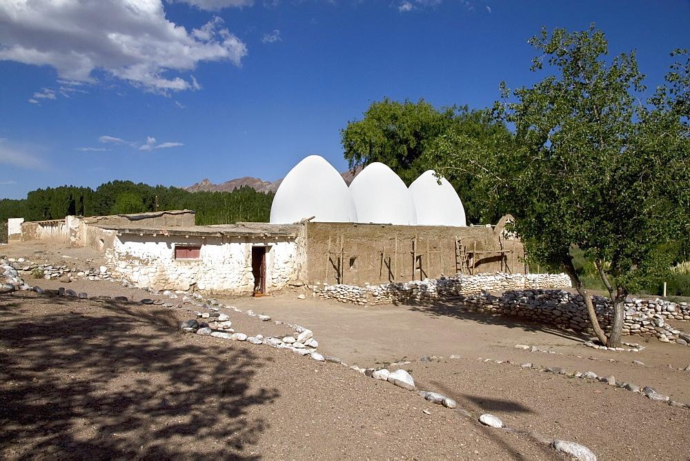 Historical bovedas (vaults), Uspallata, Mendoza, Argentina